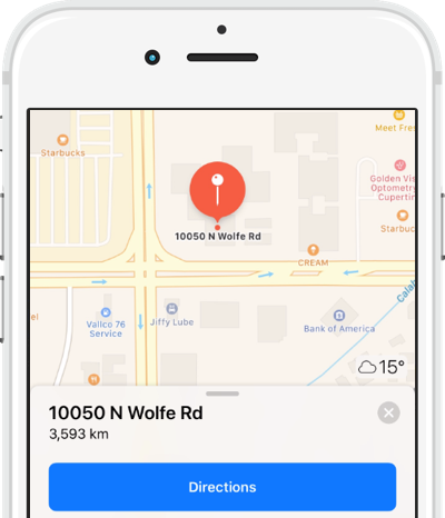 SugarCRM Mobile Maps